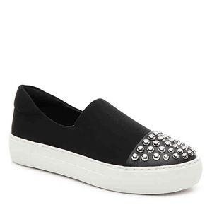 J Slides Aristocrat Stud Platform Slip On Sneaker